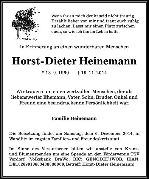 Horst-Dieter Heinemann